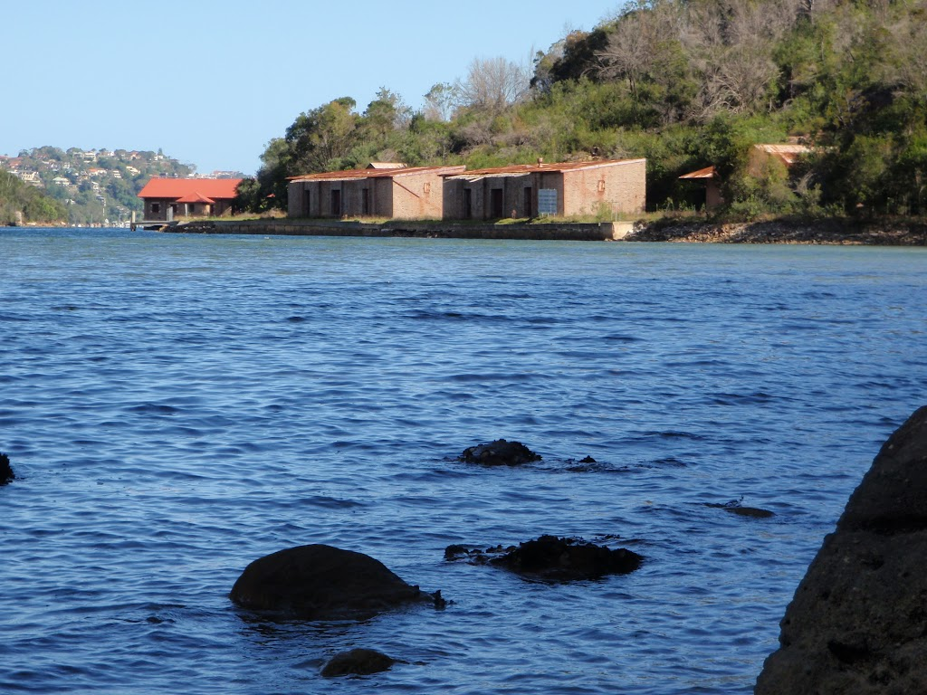 View from northern end of Bantry Bay to Magazine buildings