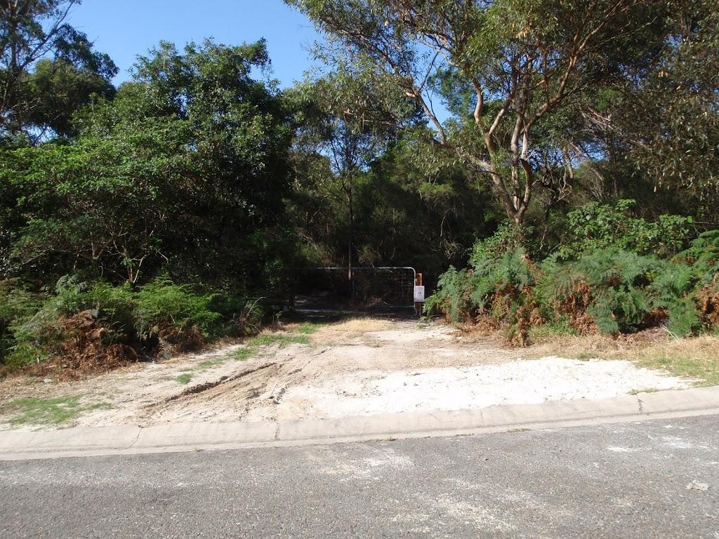 Currie Rd Service trail trackhead