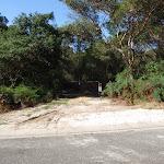Currie Rd Service trail trackhead (127438)