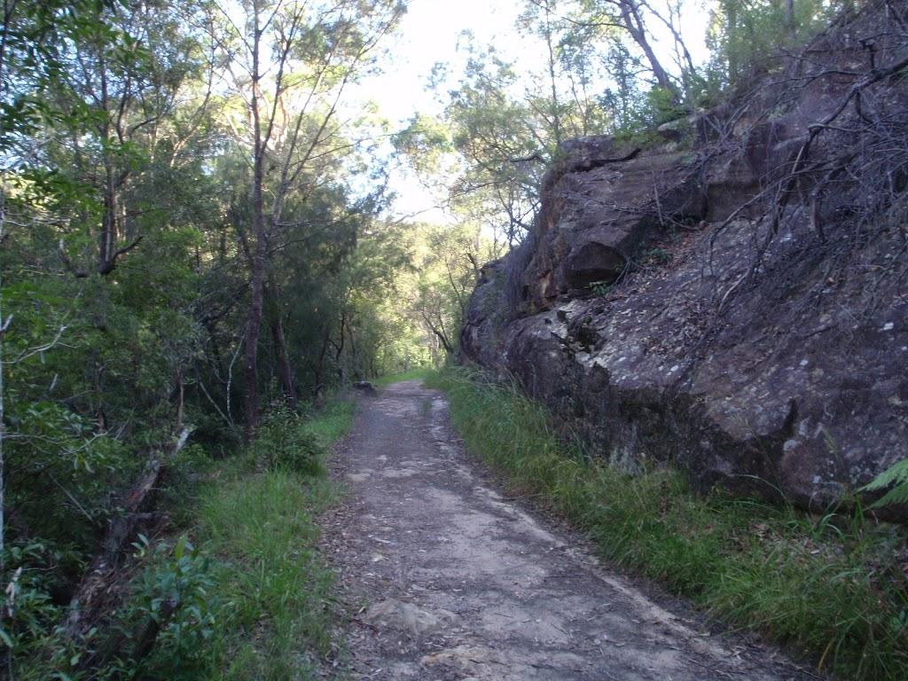 Gordon Creek Service trail