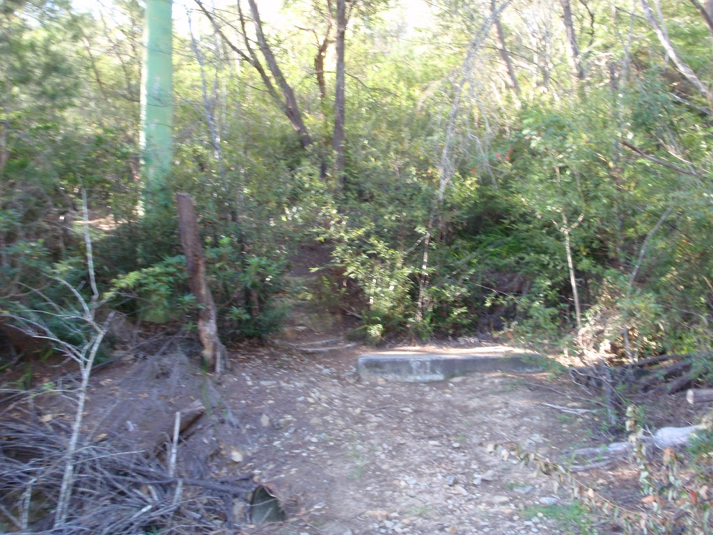 End of the Gordon Creek service trail (130159)