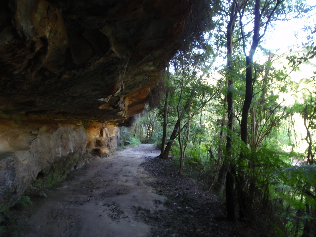 Cave on Two Creeks Track Little Diggers park