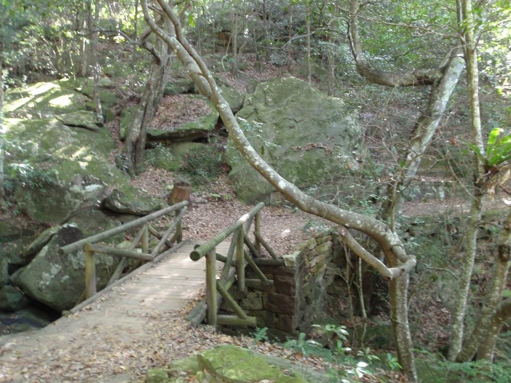 Crossing a short bridge
