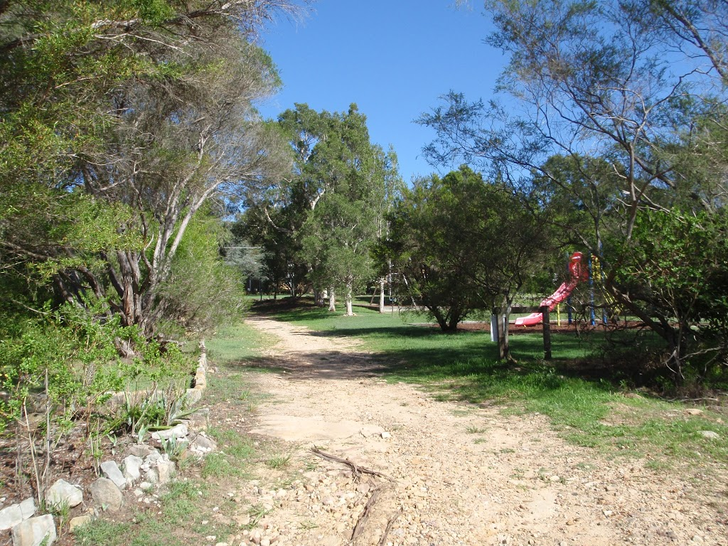 Park at top of Carlyle road service trail