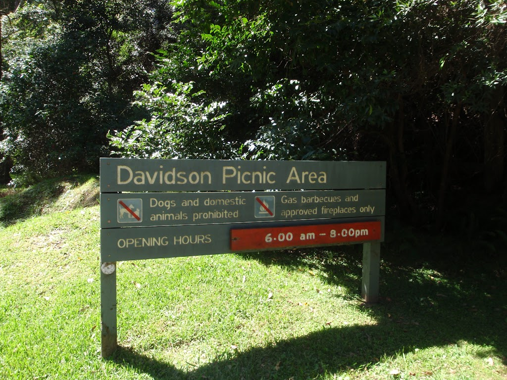 Welcome to Davidson Picnic area (132214)