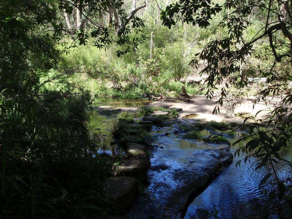 Crossing Carroll Creek