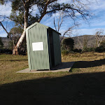 Toilet at Rocky Plain camping area