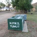 Large rubbish bins