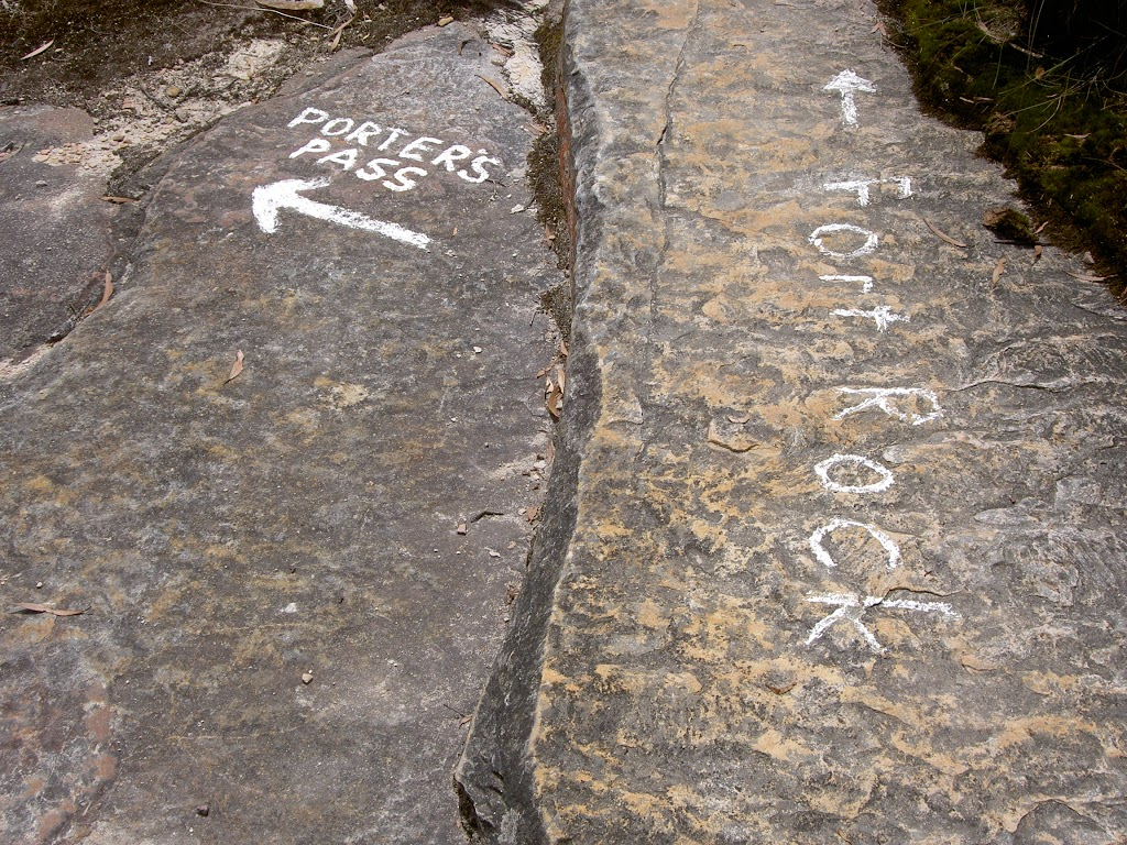 White markings on rock (14041)