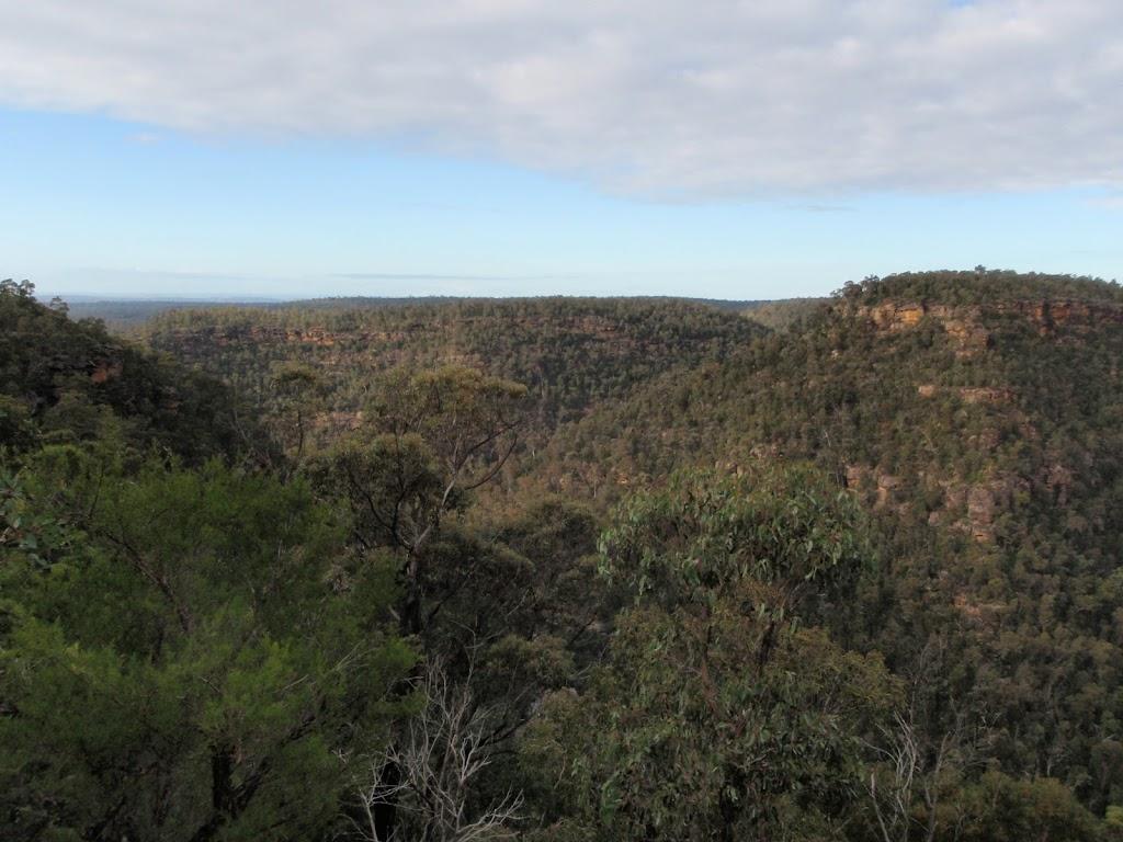 View up Erskine Creek from just below Pisgah Rock
