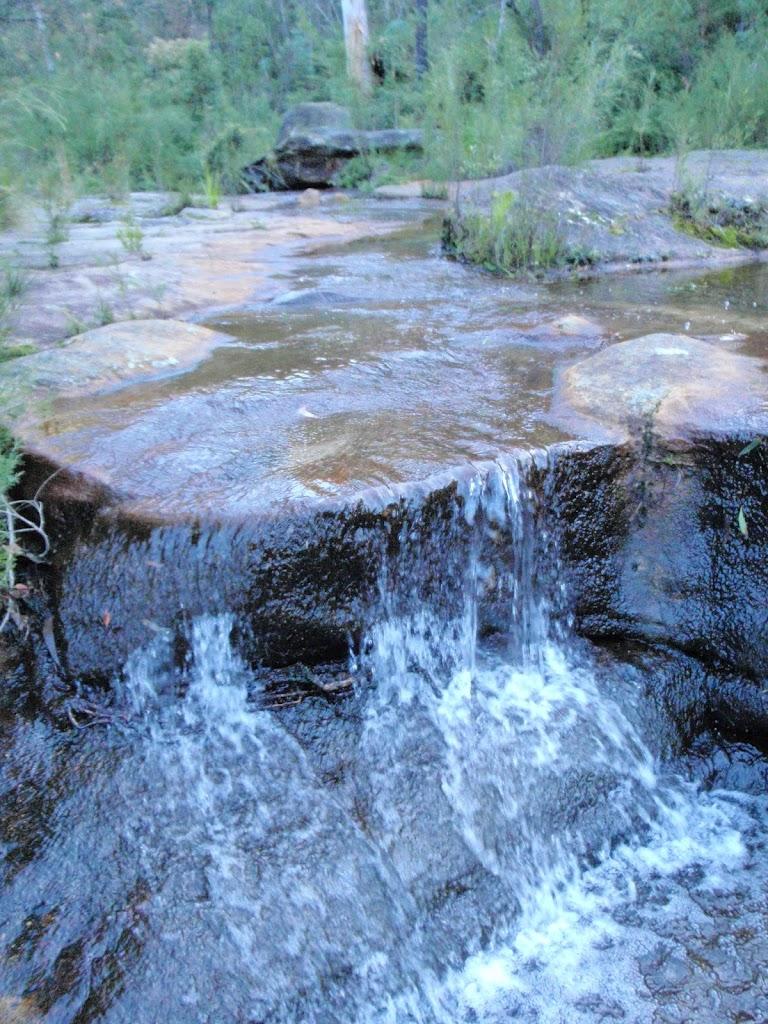 Small cascade on Lincoln Creek