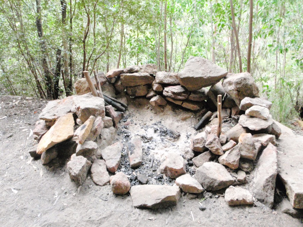 Fire place in Dadder Cave