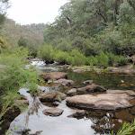 Erskine Creek in front of Dadder Cave