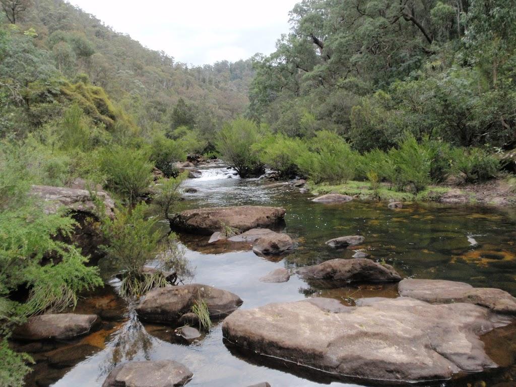 Erskine Creek just below Dadder Cave