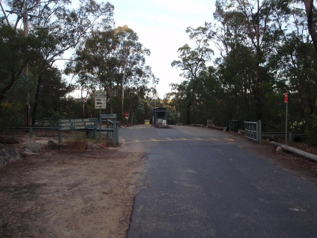 Glenbrook entrance gate