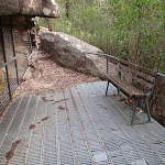 Red Hands Cave decking (145389)