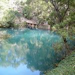 Blue Lake weir