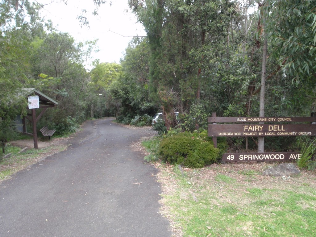 Fairy Dell Reserve from the road