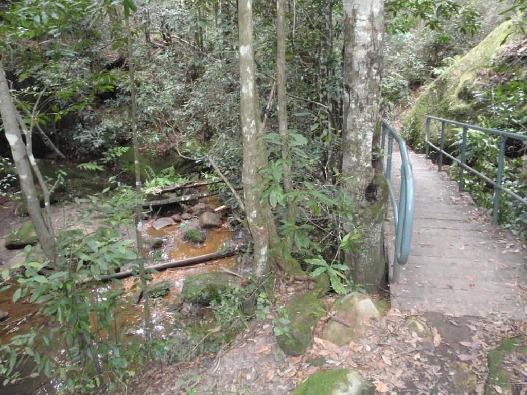 Bridge up to Picnic Point