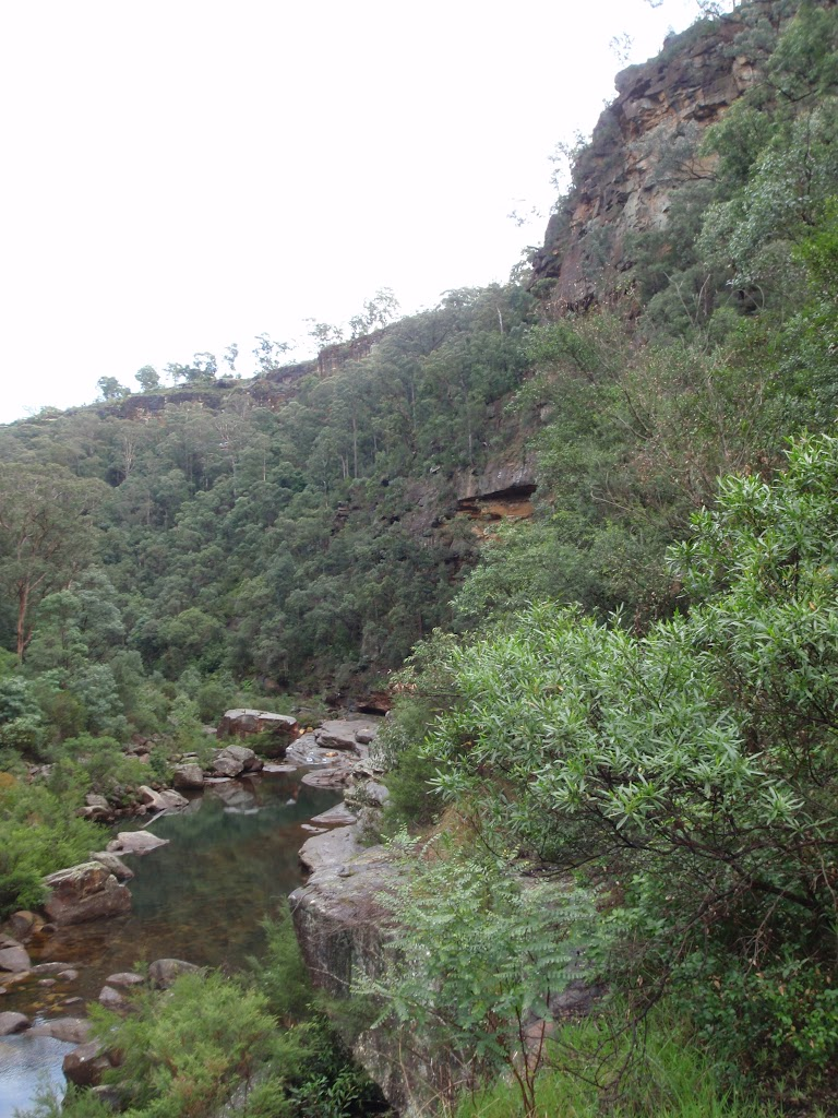 Mouth of Glenbrook Gorge
