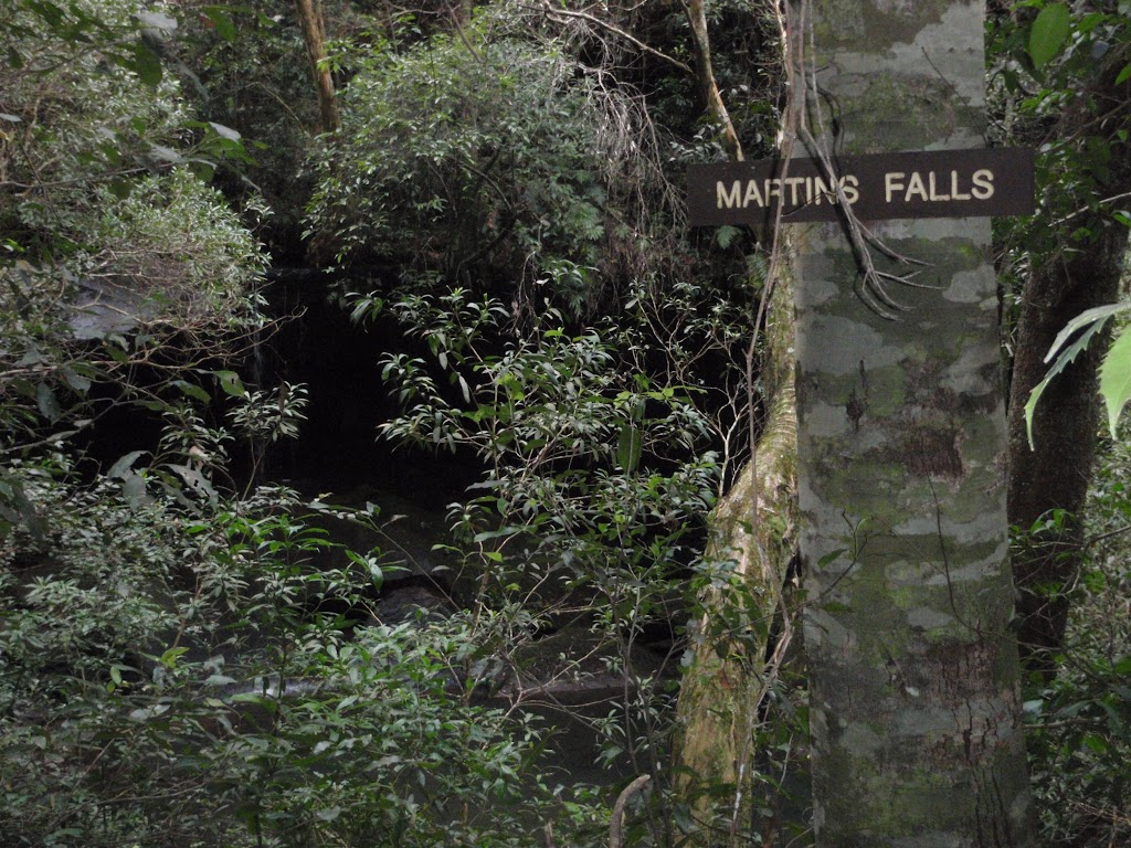 Sign for Martins Falls