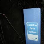 Sassafras Gully track marker (147612)