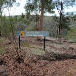 Walking sign near lookout (150450)