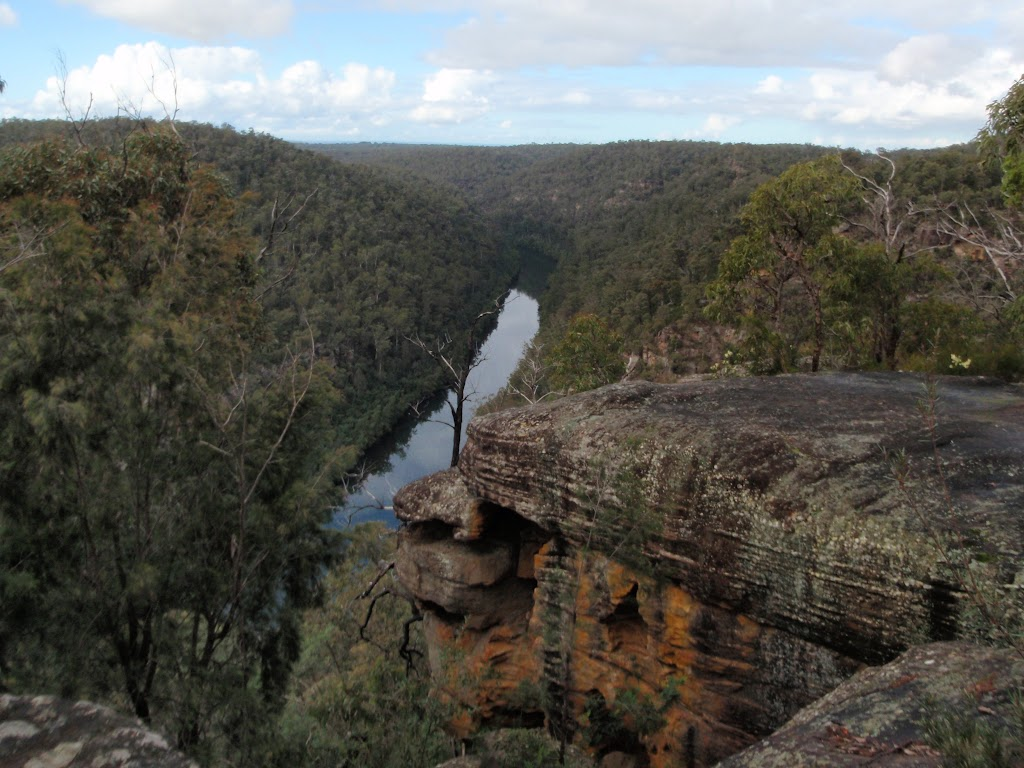 View up the Nepean River from lookout