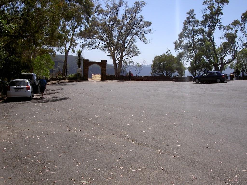 Govetts Leap car park