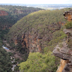 Glenbrook Gorge from Tunnel View Lookout