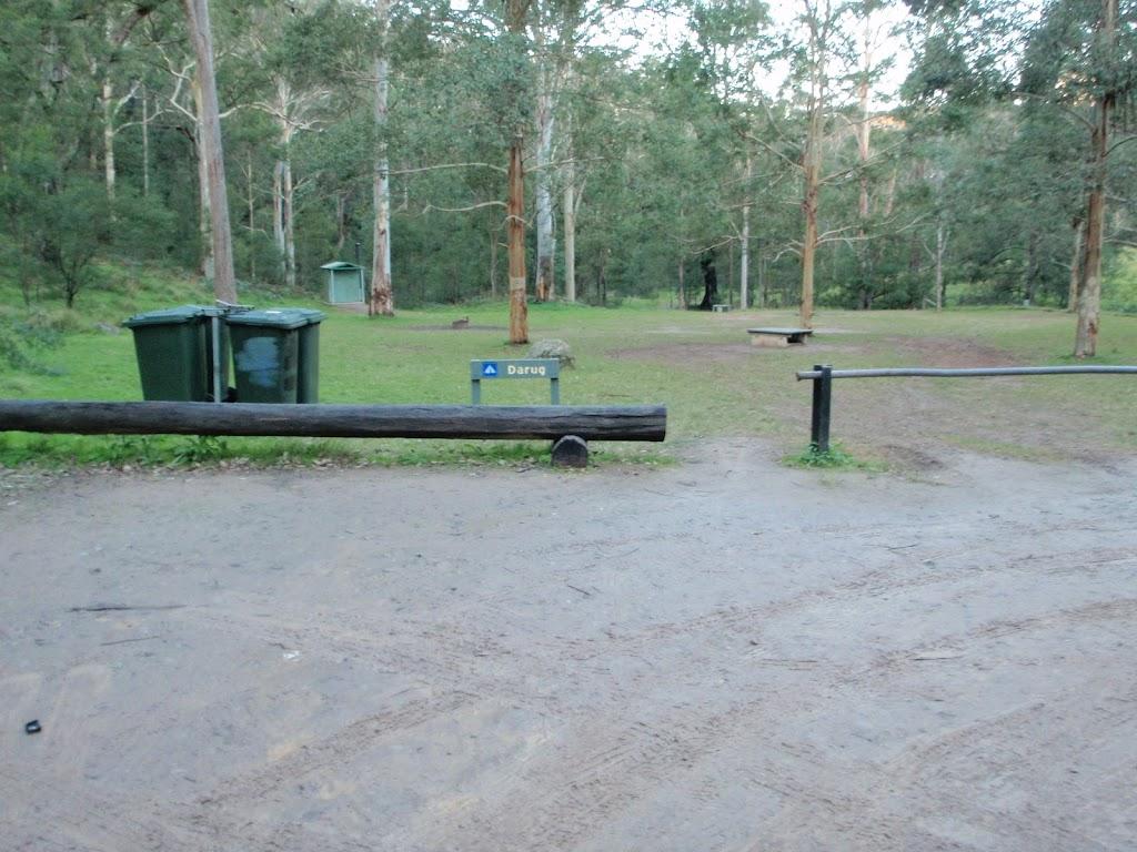 Darug camping area
