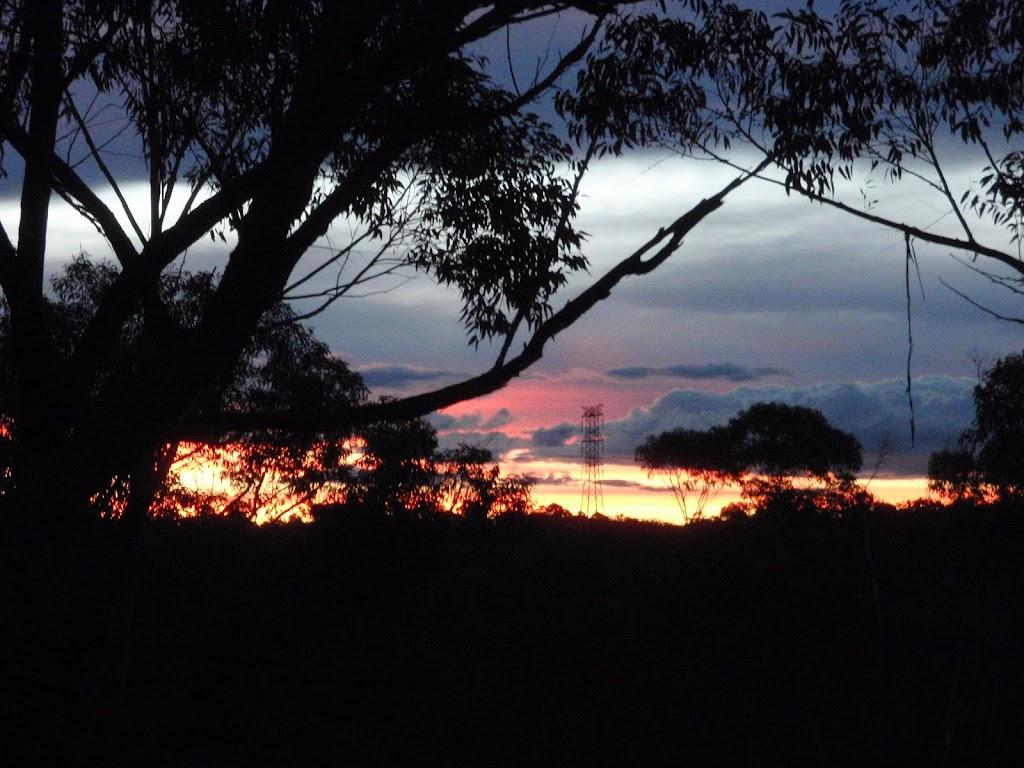 Sunset from Stringybark ridge