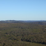 Part of the panoramic view from the Willunga trig point