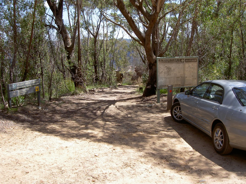 Pulpit Rock car park