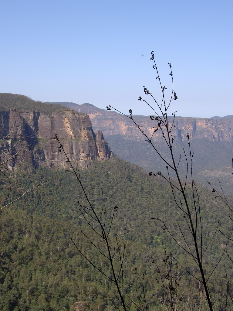 View of Pulpit Rock From Govetts