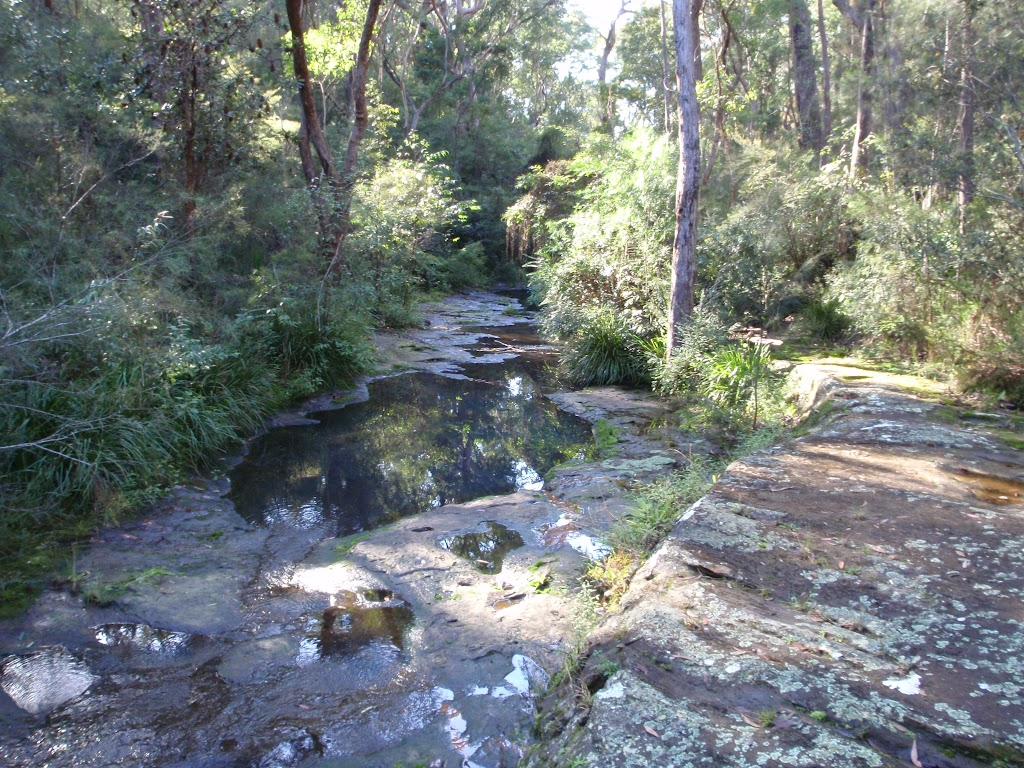 Rockpools at Disturbed creek crossing (157084)