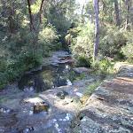 Rockpools at Disturbed creek crossing (157084)