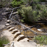 Cliff Top track across Govetts Leap Brook