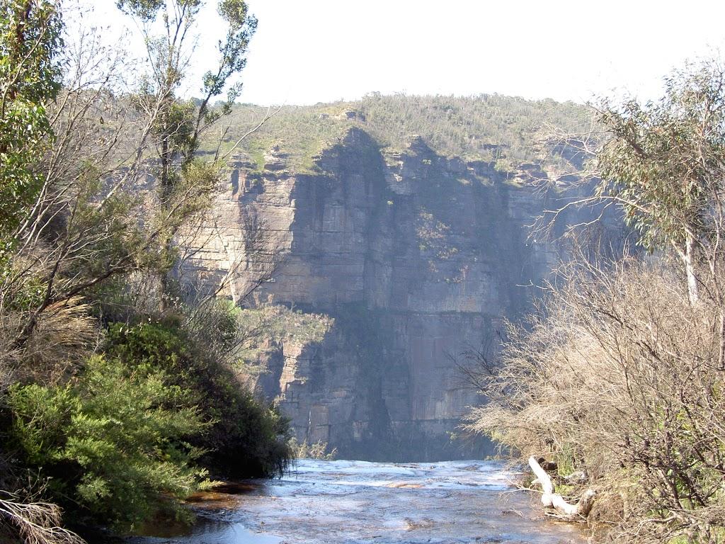 Top of Govetts Leap falls