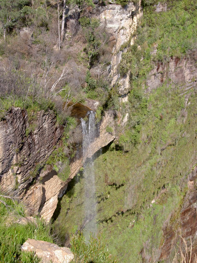 Govetts Leap Falls from Barrows Lookout