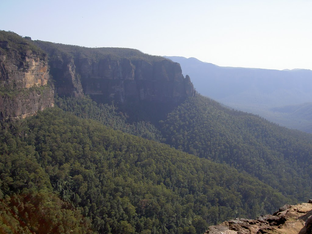 Grose Valley from Barrow Lookout