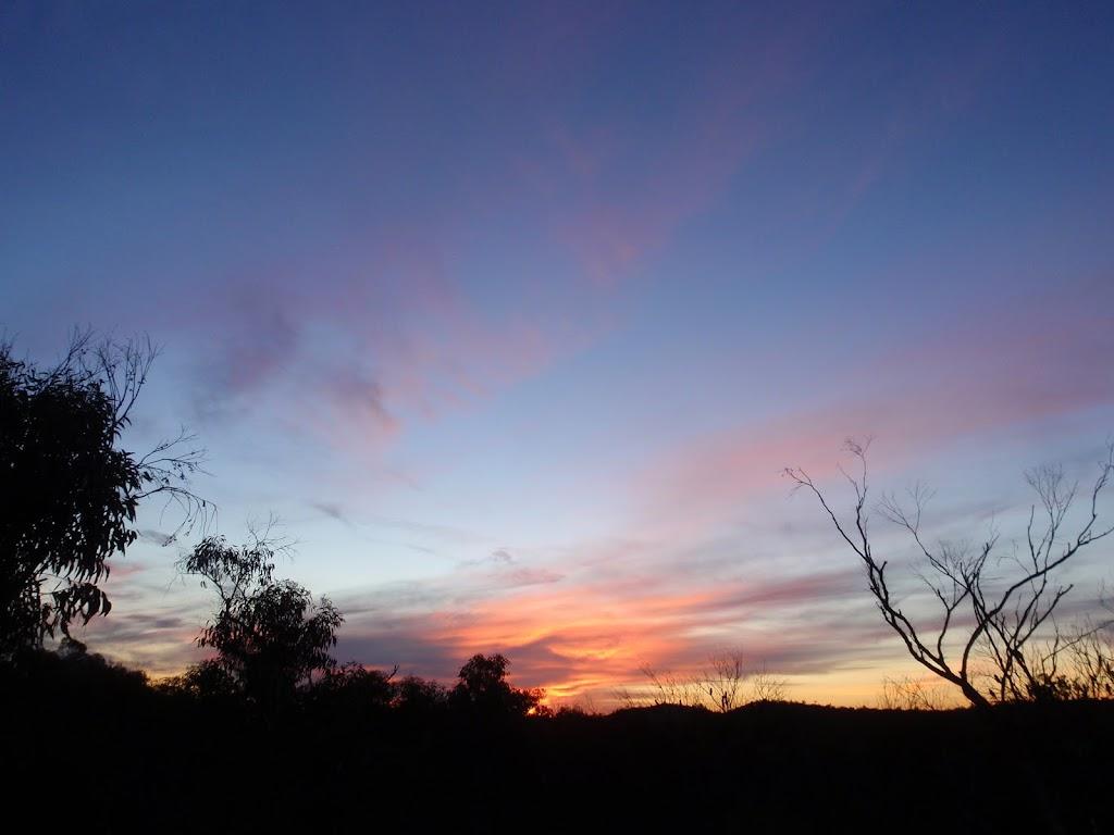 Nice sunset over Popran National Park