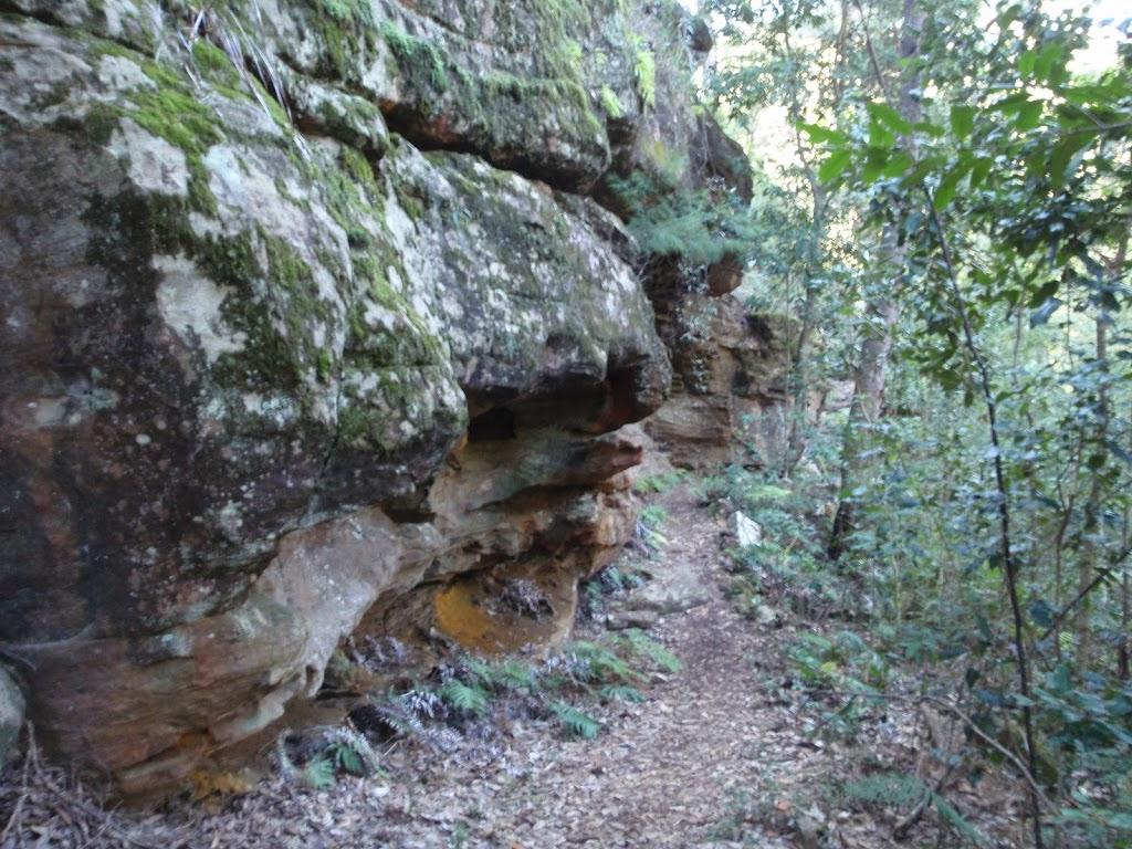 Small cliffline