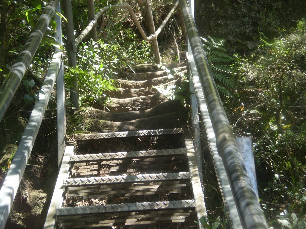 The occassional set of steep stairs