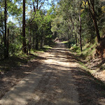 Dubbo Gully Rd management trail