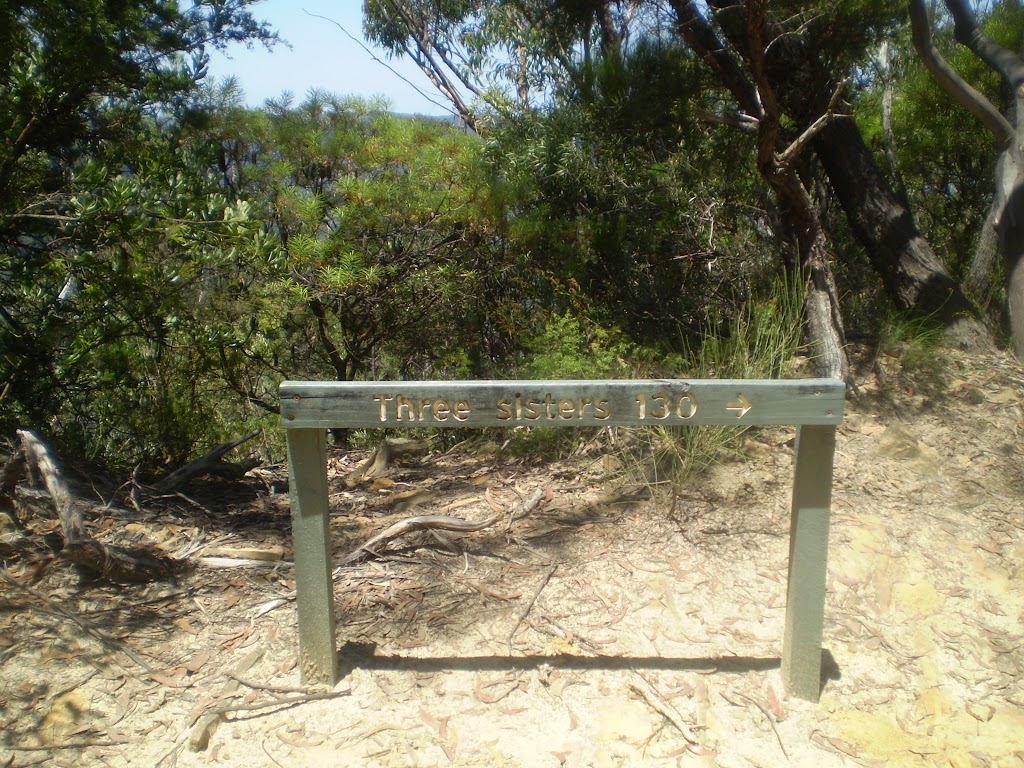 Sign to Three Sisters