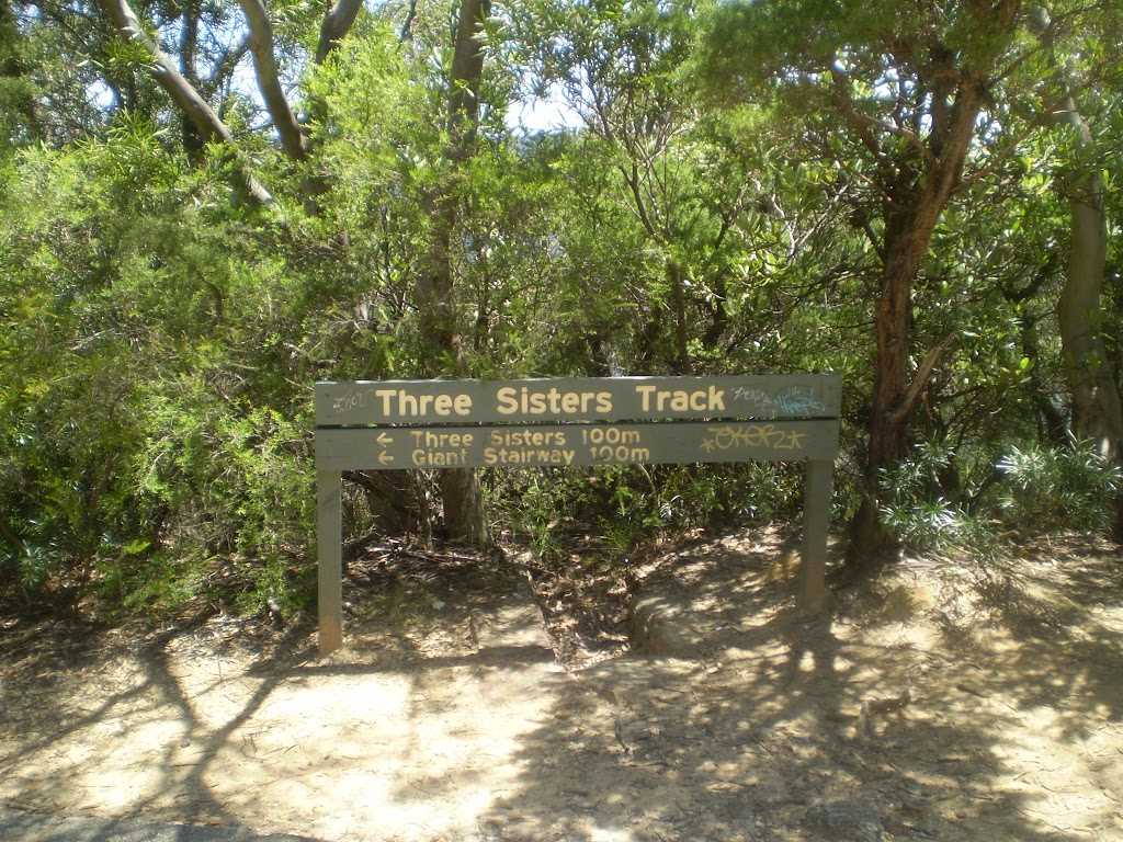 Three Sisters Sign