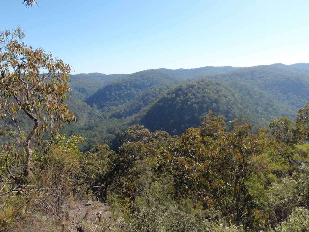 Some great views across the grand valleys on WCT