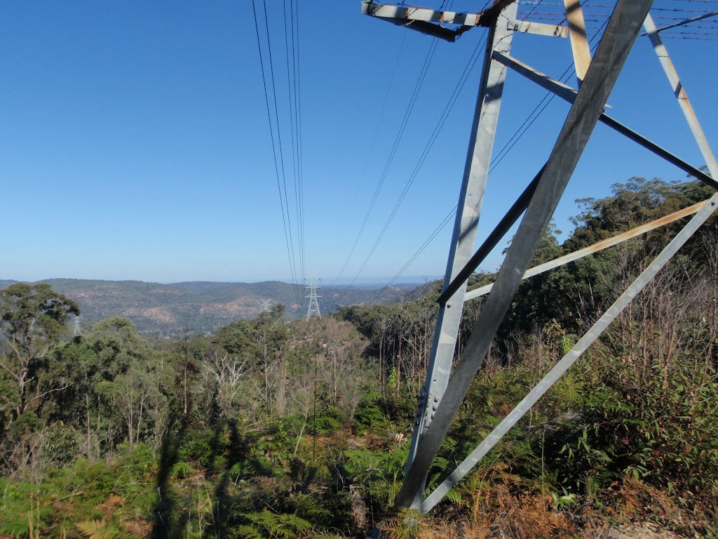 The WCT passes a few HT powerlines