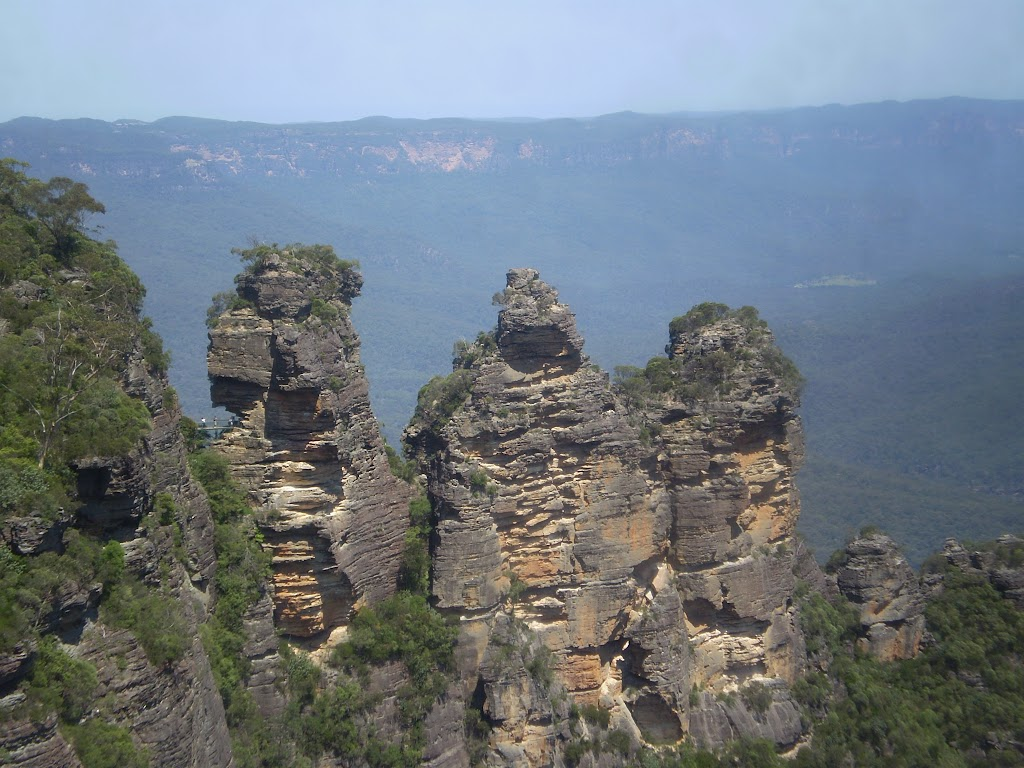 View of the Three Sisters from Echo Point